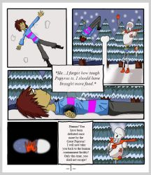 Undertale: The Rescue Op - Page 1 by CrackerHumps