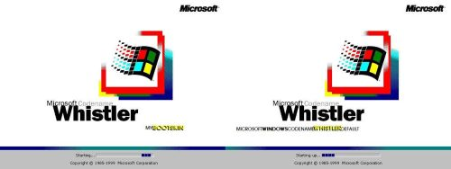 Windows Whistler Bootskin by mariomj71099