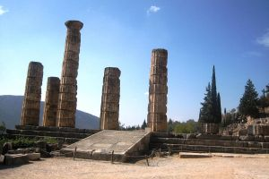 Greece, Delphi Apollo temple 3 by elodie50a