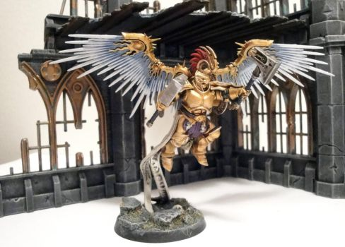 Prosecutor Prime of the Lions of Sigmar by roganzar