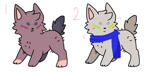 cheap Pup Adopts closed by iloveonedirection999