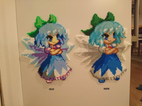 Touhou Character 5 - Cirno (redone) by MagicPearls