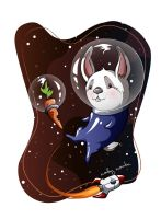 Astro Bunny by flashparade