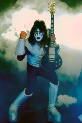 Ace Frehley the original spacerocker by petnick