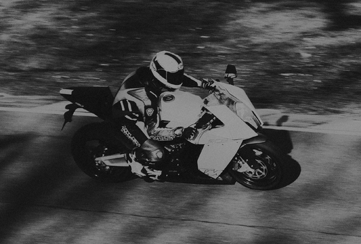 brother at oulton park riding ktm by a-r-v
