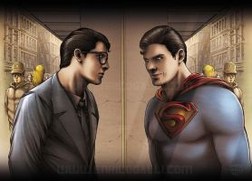 Superman - Clark Kent by EnricoGalli