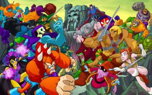 Masters of the Universe by jerzydrozd