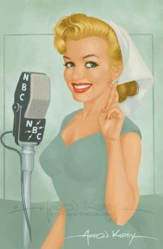 Norma Jeane by Aaron Kirby by AtomicKirby