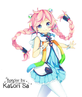 [ #20 ] Rana (Vocaloid) Render by Katori-Sa