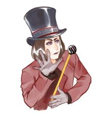 Willy Wonka by Drawum