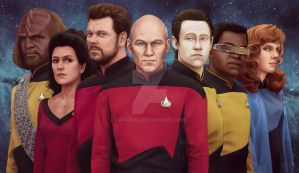 Star Trek Next Gen by Atarial