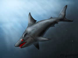 Shark HAL 9000 by Mad-Potatoes