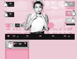 Order Layout ft. Miley Cyrus #65 by BebLikeADirectioner