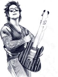 Synyster Gates. by LucyJaneLJ