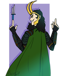 God of Mischief by Bricus27