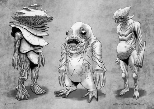 Monsters01 by RONIN013