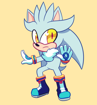 Silver the Hedgehog by CuteyTCat