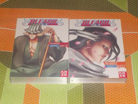French Bleach DVD Collection box 2 by gekkodimoria