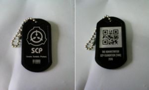 SCP Dogtag by maxalate