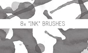 Ink Brushes by PinkMai