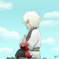 Jiraiya - Training by nelsonaof
