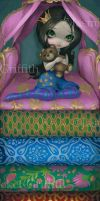 The Princess and the Pea by jasminetoad