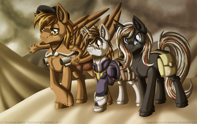 Over the Wasteland by InuHoshi-to-DarkPen
