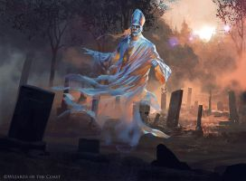 Remorseful Cleric - Magic the Gathering by 88grzes