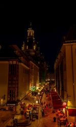 Dresden at night by LoveForDetails