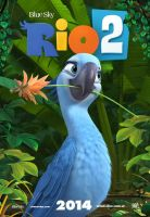 Rio 2 Poster ft Jewel by MelySky
