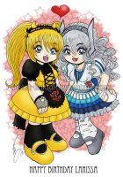 Chibi: Lolibot Love by I-heart-Link