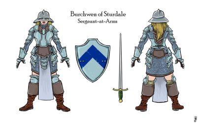 Burchwen by crackwalker