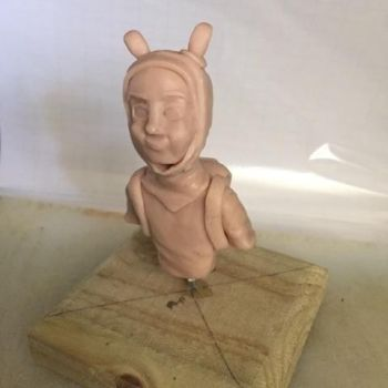 Adventure Time - Finn Bust by CultureSculpts