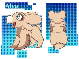 Alya Reference by BoogieRaptor