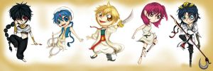 Magi: Kingdom of Chibis by Checker-Bee