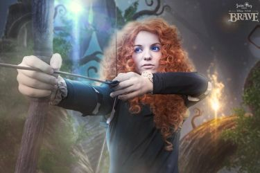 Merida from Brave disney cosplay by Ychigo