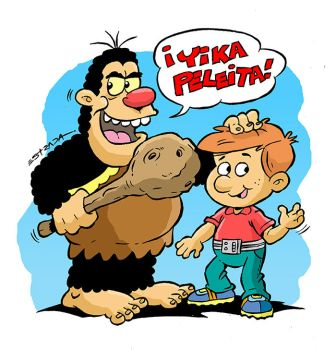 Ogu y Mampato by ZeroCartoon