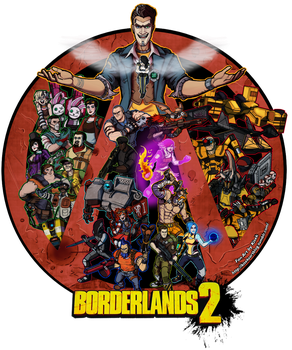 Welcome to the Borderlands - ver.2 by K1S3K