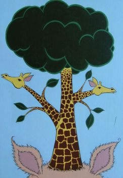 The Giraffes Grew Into The... by DuaneJealousy