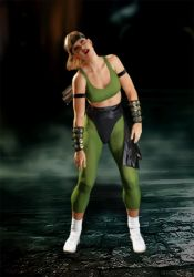 Sonya Blade - Dizzy animation by ZabZarock