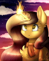 Fire in the night [Contest prize] by CreativeCocoaCookie