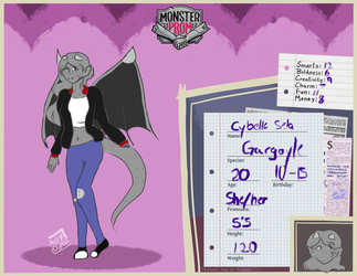 Cybelle- monster prom oc by AcrylicDolls