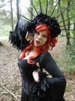 Red Hair - Stock 5 by Rosenrot-Photography
