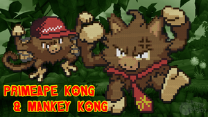 Primeape Kong and Mankey Kong (w/ Timelapse)