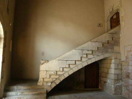 Spain - M11 Old stairs by Gwathiell