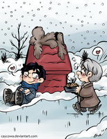 Yuri on Ice - Peanuts by caycowa