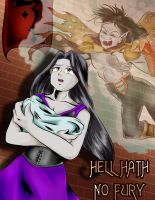 Hell Hath No Fury Cover by Reenave