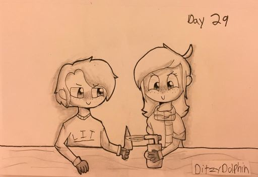 Inktober Day 29: United by DitzyDolphin