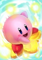Kirby by KoiDrake