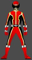 gaiared final design by Paladin01